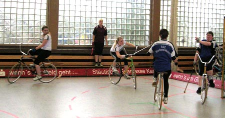 Juniorinnenteam Lisa Schelkmann und Samantha Thomas